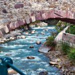 Impressionen aus Meran Brückenbogen