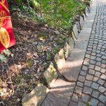 Schlange in den Gärten von Schloss Trauttmansdorf