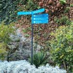 Wegweiser zum Tappeinerweg von Meran