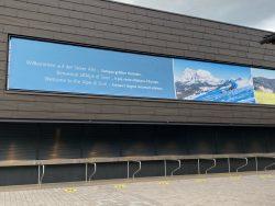 Kasse für die Liftkarten der Seiser Alm in Südtirol