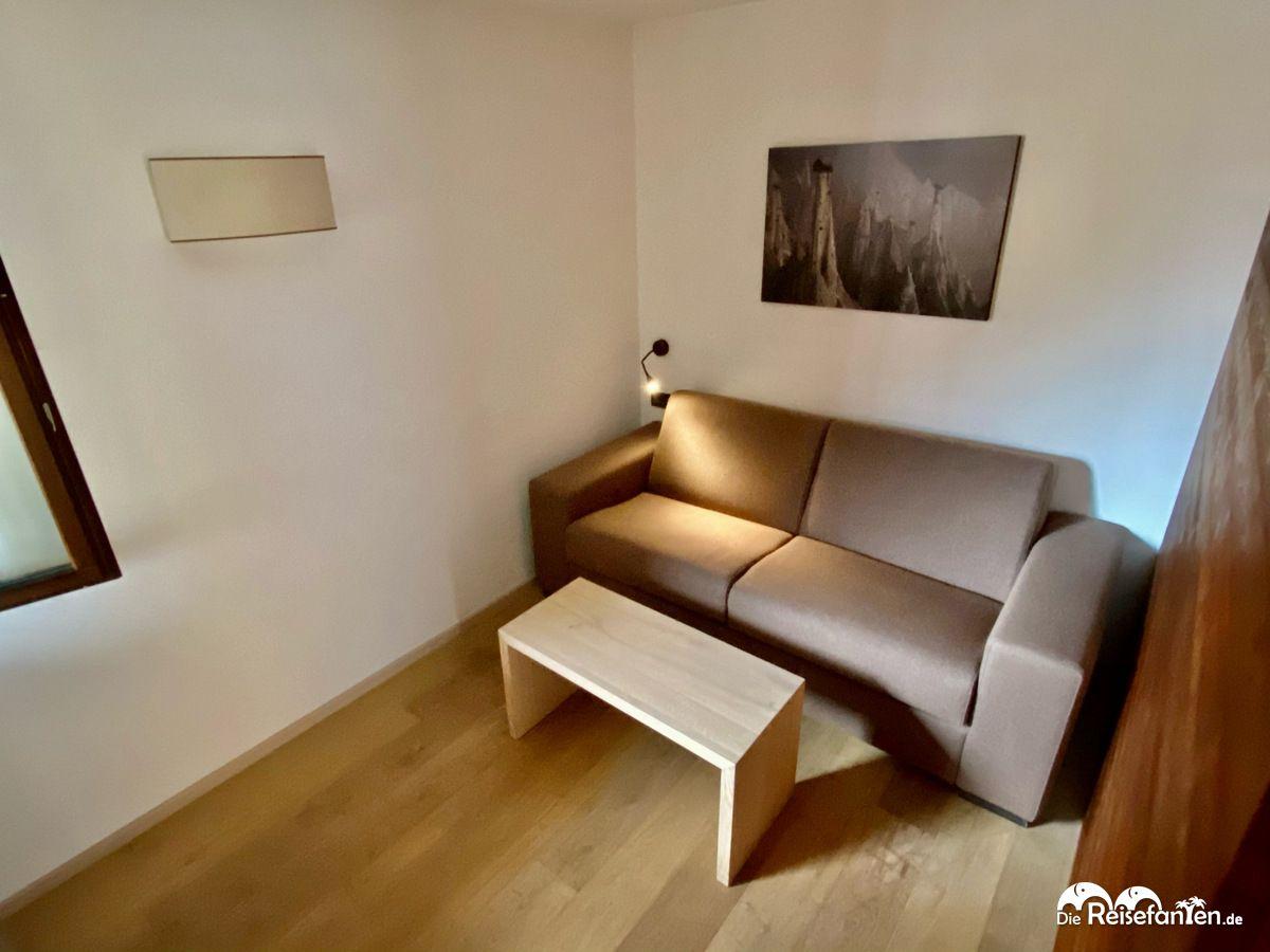 Zusatzzimmer in der Ariston Dolomiti Residence in Toblach in Südtirol