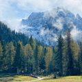 Am Fuße der Drei Zinnen in Südtirol