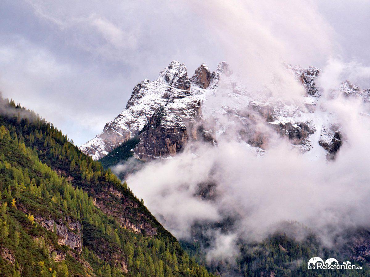 Berge vom Dürrensee aus gesehen