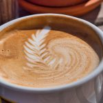 Cappuccino mit Motiv