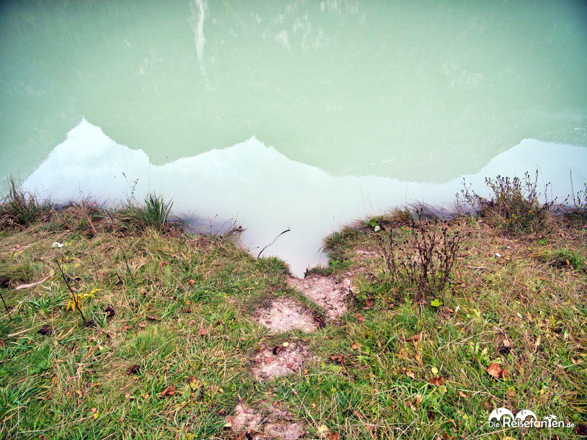 Das Wasser des Dürrensees