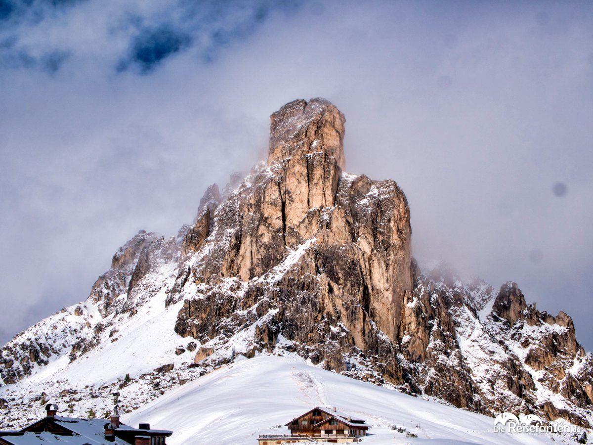 Der Monte Ragusela am Passo Giau