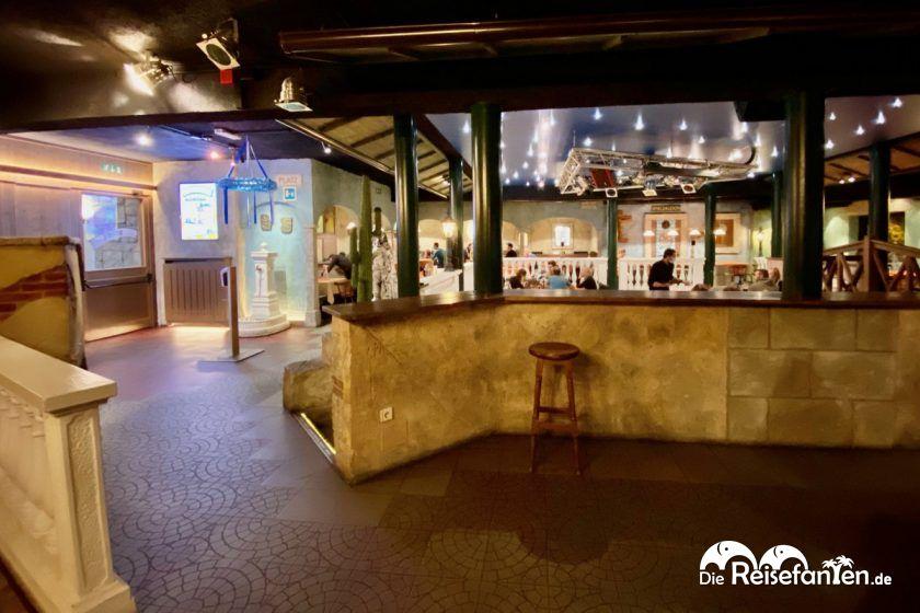 Die Pizzeria Mexico City in Niederdorf in Südtirol war mal eine Disco
