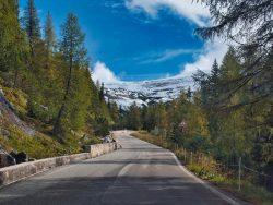 Fahrt zu den Drei Zinnen in den Dolomiten