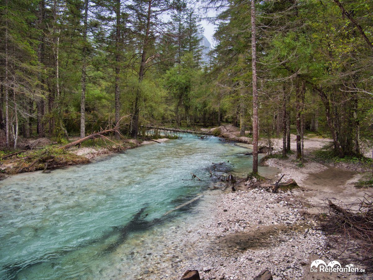 Klares Wasser am Toblacher See