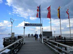 Seebrücke Scharbeutz an der Lübecker Bucht