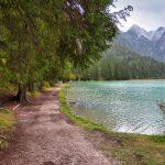 Uferweg am Toblacher See