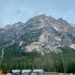 Blick auf die Dolomiten bei Cortina d'Ampezzo