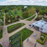 Blick vom Aussichtsturm im Park der Gärten 2