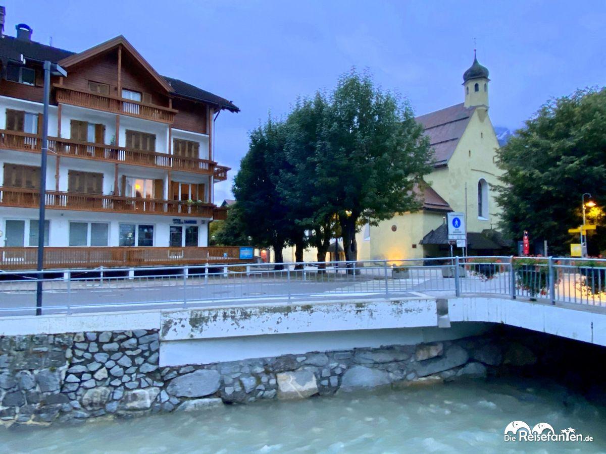 Brücke über den Haunold in Innichen