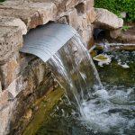 Brunnen im Park der Gärten