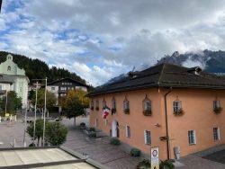 Das Rathaus von Toblach