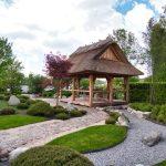 Der japanische Garten im Park der Gärten