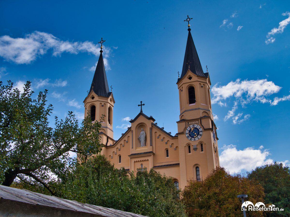 Die Pfarrkirche Bruneck