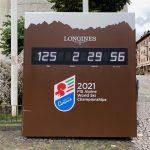 FIS Skiweltmeisterschaft in Cortina d'Ampezzo im Winter 2021