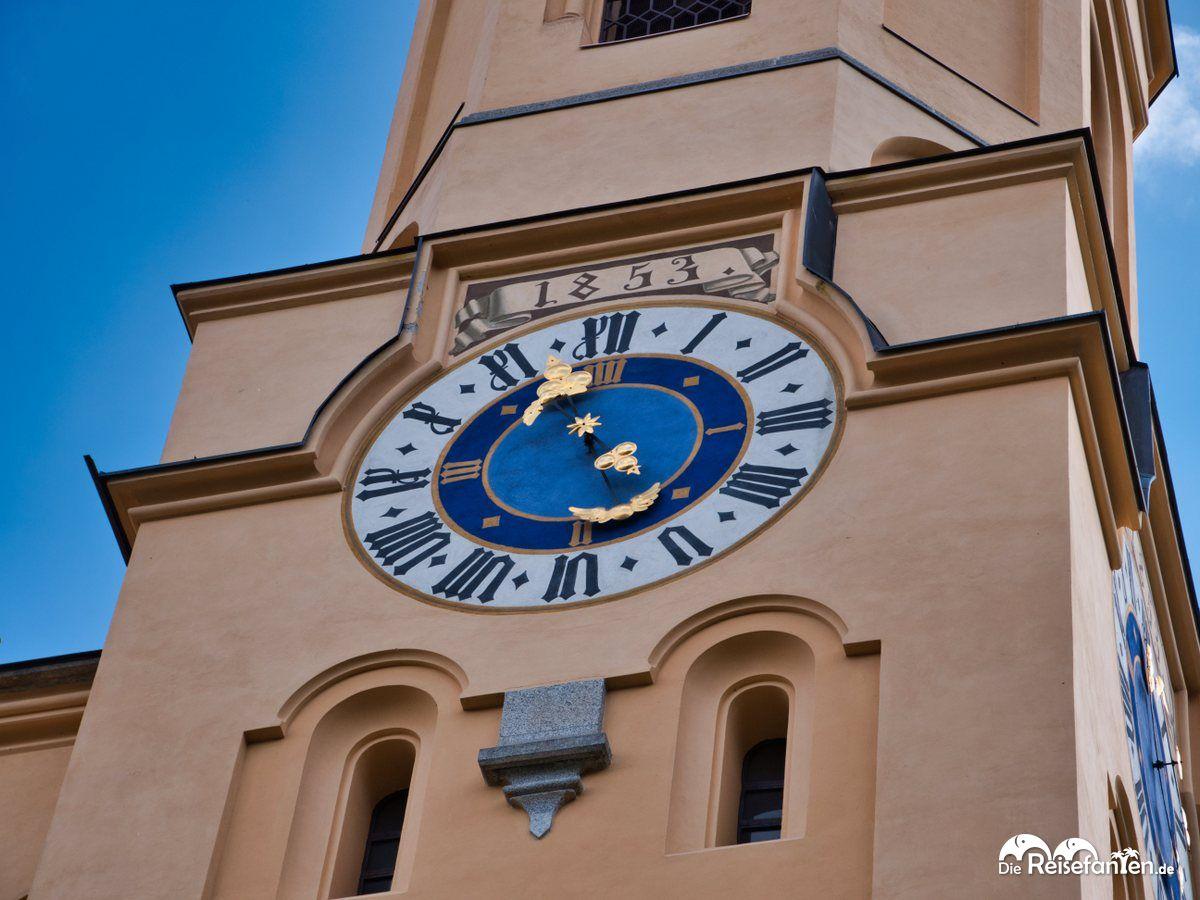 Impressionen aus Bruneck 18 Uhr der Pfarrkirche Bruneck