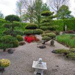 Japanischer Garten im Park der Gärten