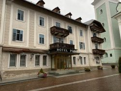 Verlassenes Hotel in Toblach