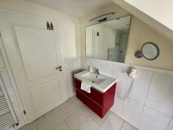 Badezimmer im Haus am Meer in Hohwacht an der Ostsee