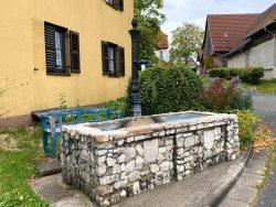 Brunnen in Engelhardsberg in der Fränkischen Schweiz