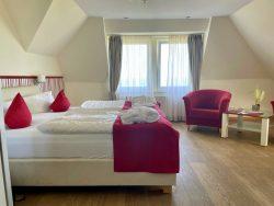 Geräumiges Doppelzimmer im Haus am Meer in Hohwacht an der Ostsee