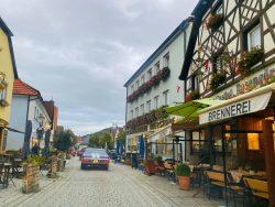 Innenstadt von Ebermannstadt in der Fränkischen Schweiz