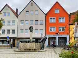 Marktplatz von Ebermannstadt in der Fränkischen Schweiz