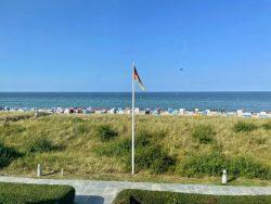 Meerblick im Haus am Meer in Hohwacht an der Ostsee