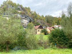 Wandergebiet in Pottenstein in der Fränkischen Schweiz
