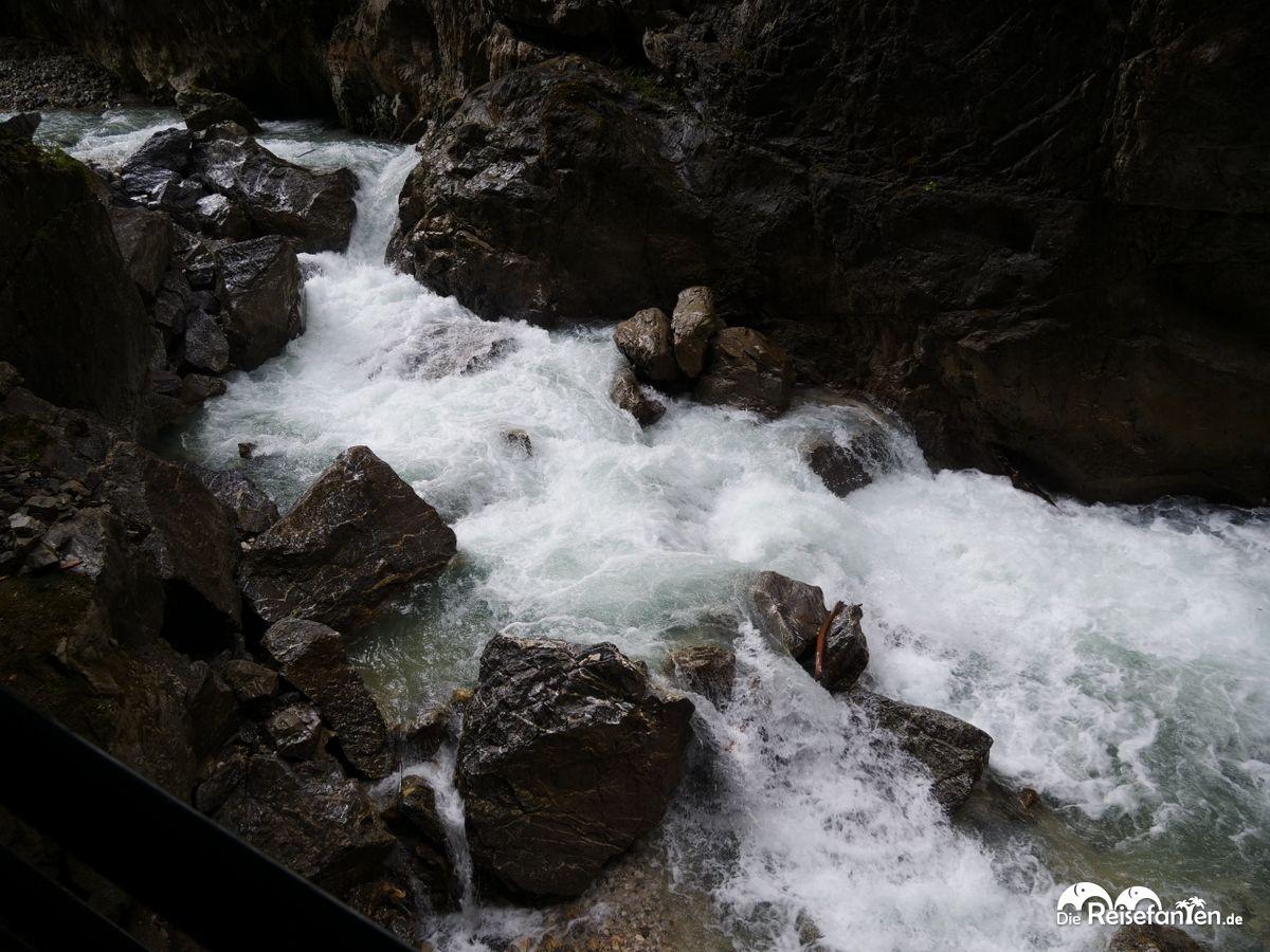 Wasser in der Partnachklamm