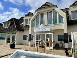 Zugang zum Restaurant im Haus am Meer in Hohwacht an der Ostsee