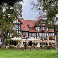 Blick auf das Cafe Deichmann in Bad Sooden