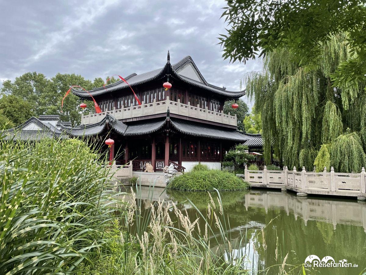 Der Chinesische Pavillon im Luisenpark Mannheim