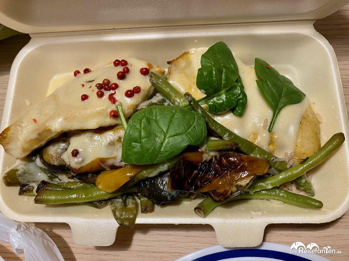 Hähnchenbrust Mojito aus dem Restaurant Baron in Eisenach