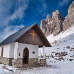 Kapelle bei den Drei Zinnen