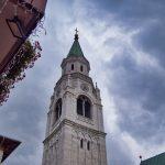 Kirchturm in Cortina d'Ampezzo