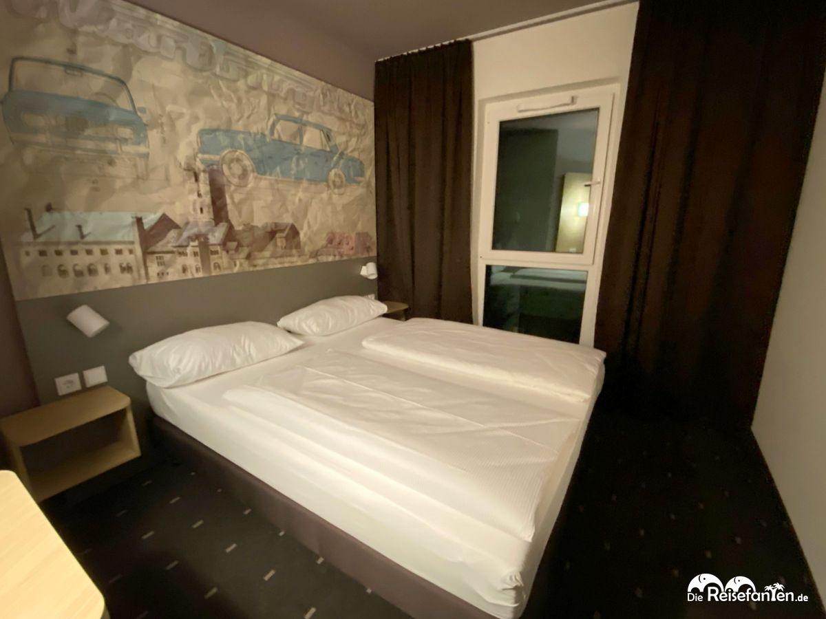 Zimmeransicht im B&B Hotel Eisenach
