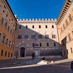 Der Palazzo Salimbeni in Siena