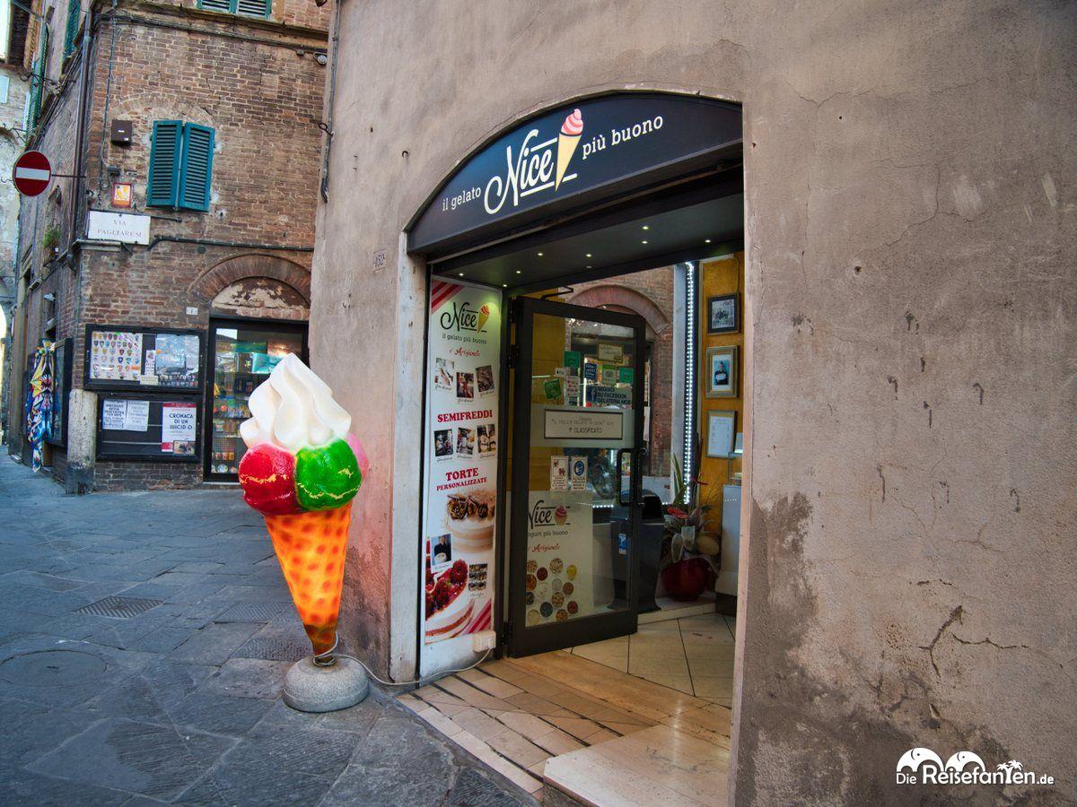 Die Gelateria Nice in Siena