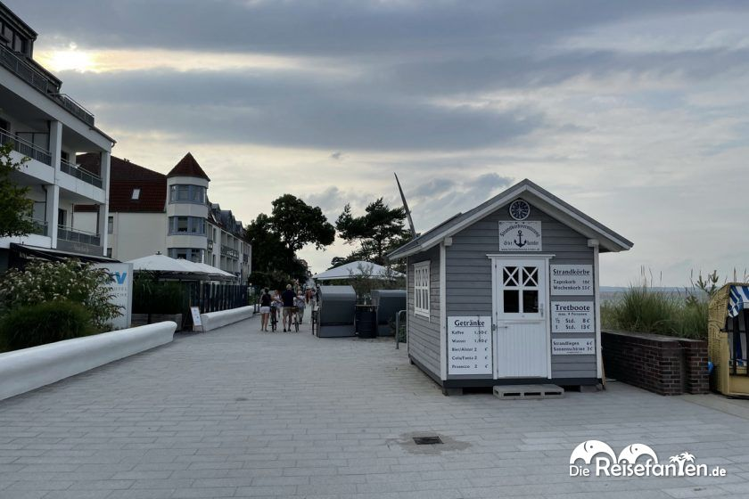 Die Niendorfer Promenade
