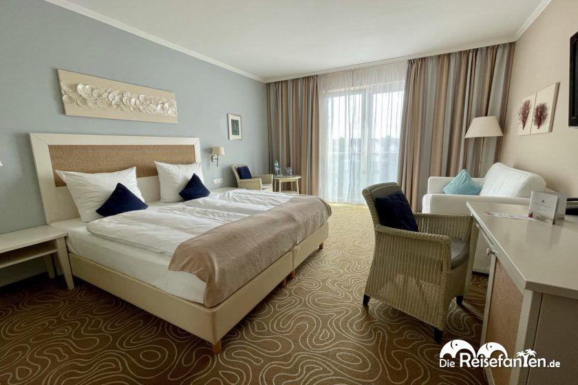 Doppelzimmer im Hotel Mein Strandhaus in Niendorf
