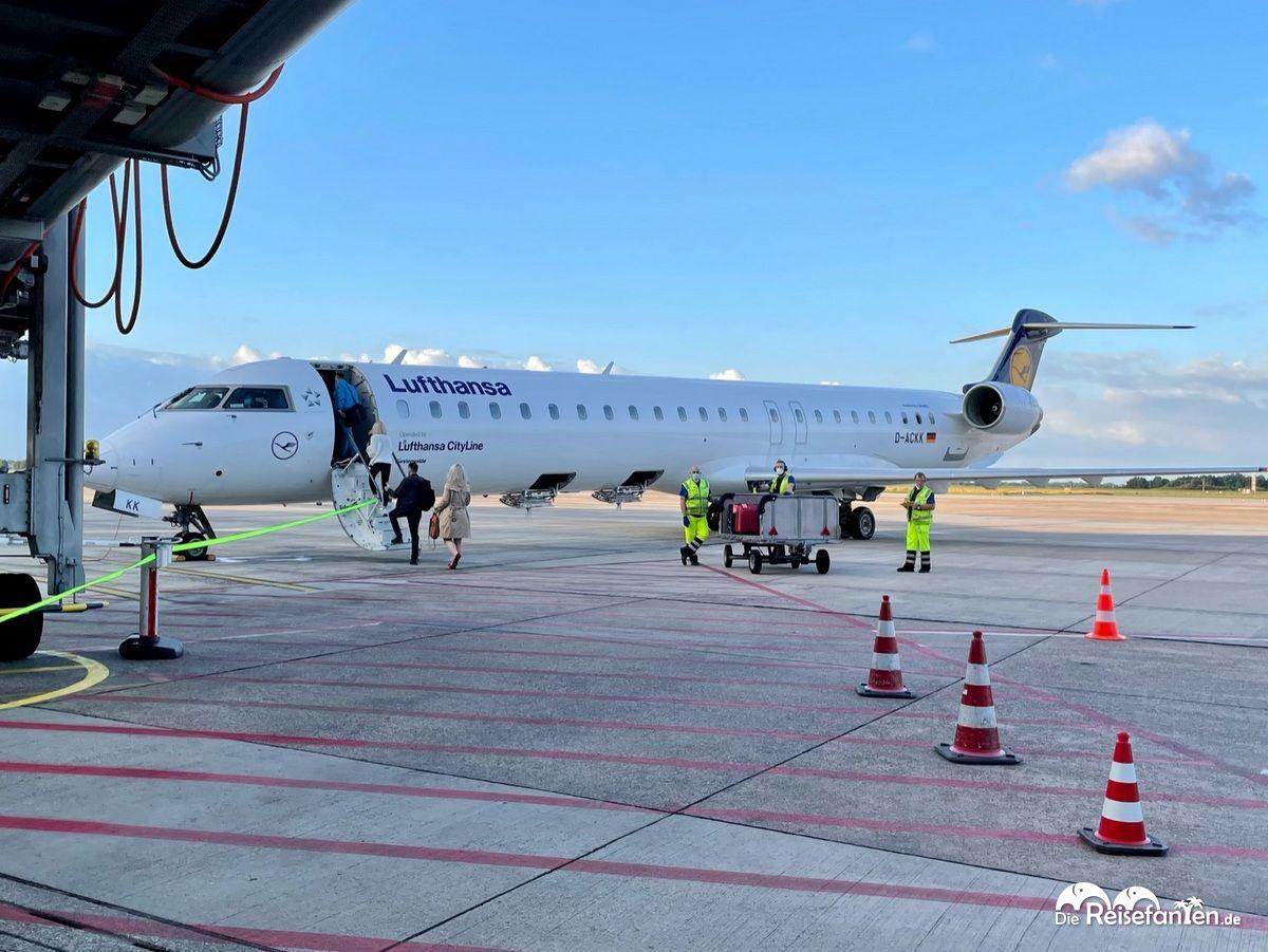 Eine Maschine der Lufthansa