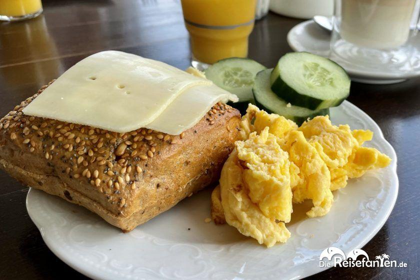 Frühstück im Hotel Mein Strandhaus in Niendorf