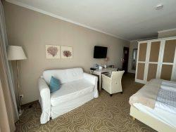 Geräumiges Doppelzimmer im Hotel Mein Strandhaus in Niendorf