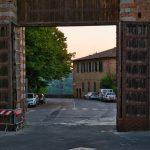 Tor der Via S. Marco in Siena