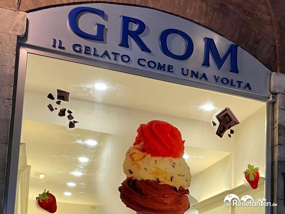 Grom Eis aus Italien